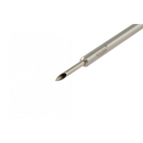 Пункційна канюля з 4 мм Luer сполученням 5*330 мм, 3*