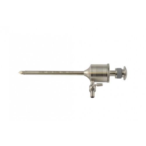 Троакар 5.5 мм з клапаном на пружині